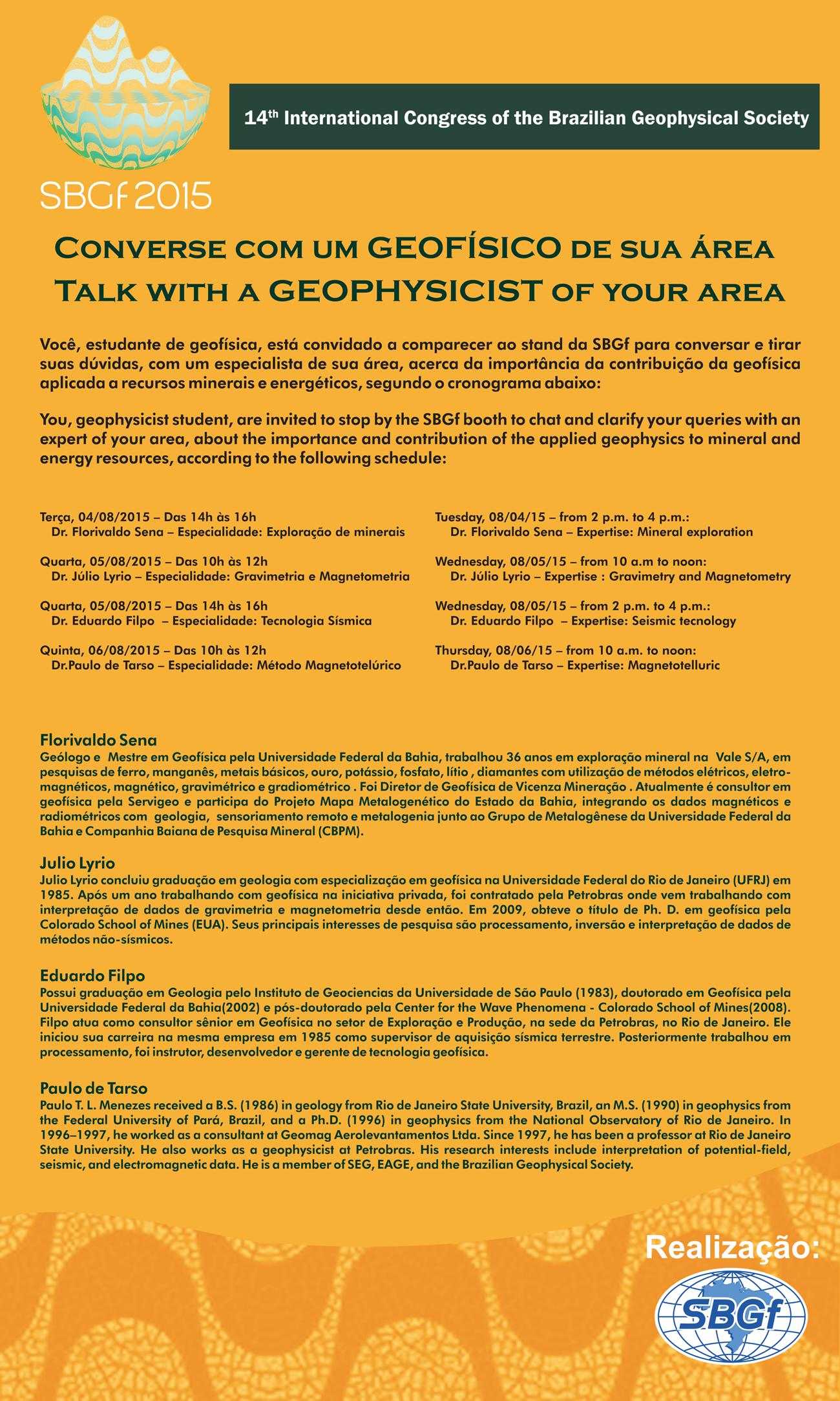 Converse com um Geofísico